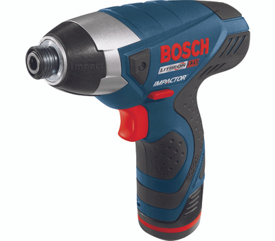 Bosch PS41-2A Impact Driver Kit, Kit, 12 V Battery, 1.3 Ah, 1/4 in Drive, Hex Drive, 3100 Ipm Ipm, 2600 Rpm Speed