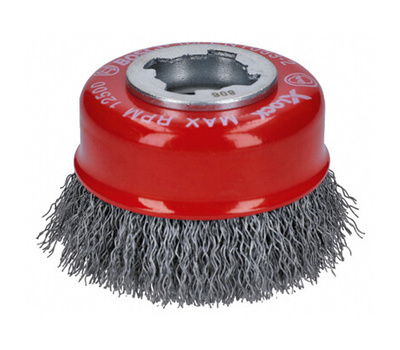 Bosch WBX318 3 Inch Crimped Cup Brush