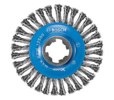Bosch WBX408 4-1/2 Carbon Wire Wheel
