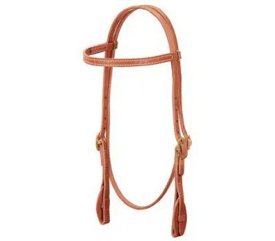 Weaver Leather 10038-00-231 5/8 Inch Oak Brow Headstall