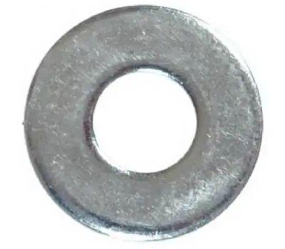 Hillman 270055 Flat Washers 1/4 Inch Zinc Plated Steel 100 Pack