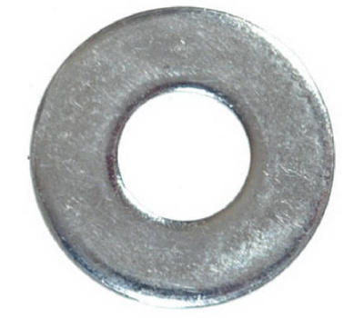 Hillman 270058 Flat Washers 5/16 Inch Zinc Plated Steel 100 Pack