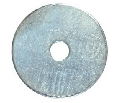 Hillman 290015 Fender Washers 1/4 By 1-1/4 Inch Overall Zinc Plated Steel 100 Pack