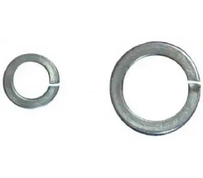 Hillman 300024 Split Lock Washers 3/8 Inch Zinc Plated Steel 100 Pack