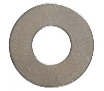 Hillman 830502 Stainless Steel Flat Washers 1/4 Inch 100 Pack