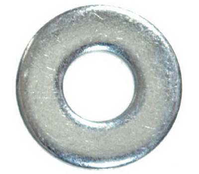 Hillman 280056 SAE Flat Washers 1/4 Inch Zinc Plated Steel 100 Pack