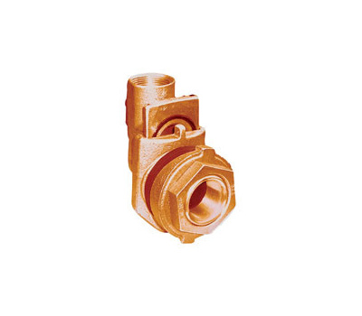 Simmons 1822SB Pitless Adapter, 1-1/4 in, Silicone Bronze