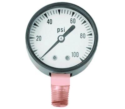 Simmons 1307 Pressure Gauge 100psi Lf