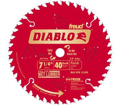 Freud D0740A Diablo 7-1/4 Inch 40 Tooth Saw Blade