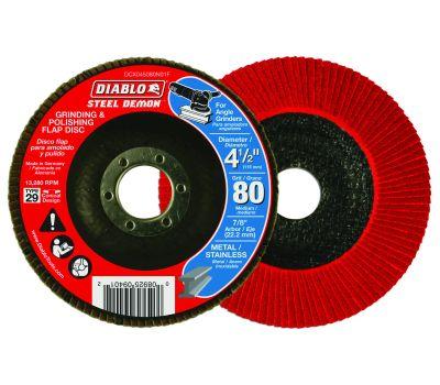 Freud DCX045080N01F Diablo Flap Disc 4-1/2 80g Cn No Hub