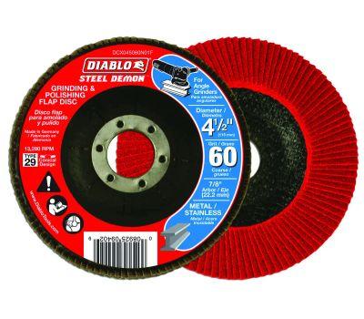 Freud DCX045060N01F Diablo Flap Disc 4-1/2 60g Cn No Hub