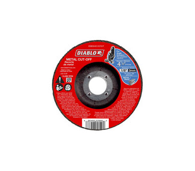 Freud DBD045125701F Diablo Cutoff Disc Metal Thn Kerf 4in