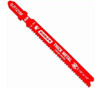 Freud DJT121BF5 Jig Saw Blade, 3-5/8 in L, 12 Tpi, Bi-Metal Cutting Edge