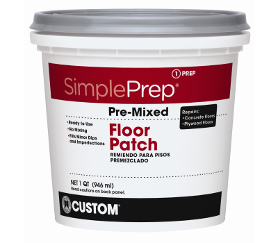 Custom Building Products FPQT Simple Prep Patch Floor Premixed In Gry Qt