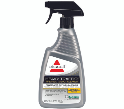 Bissell 75W5 Heavy Traffic PreTreat & Spot Cleaner 22 Ounce Trigger Spray