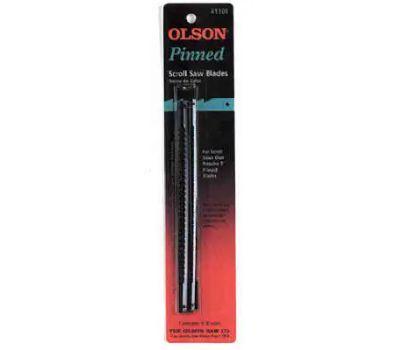 Olson Saw SC41101 15 TPI Scroll Saw Blade