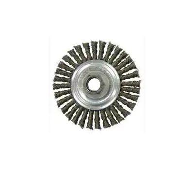 Weiler 36018 Wheel Brush 4 Bead Knot Crs