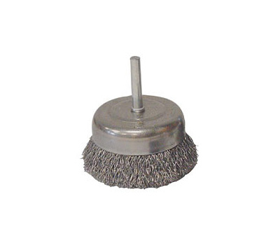 Weiler 36030 3in Crmp Cup Brush Coarse
