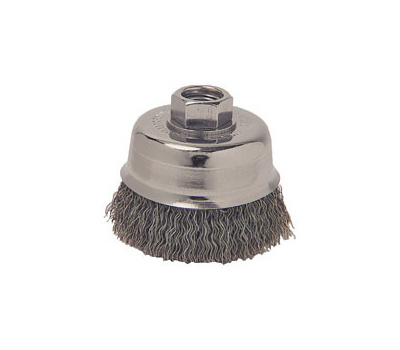 Weiler 36031 3in Crimp Cup Brush Coarse