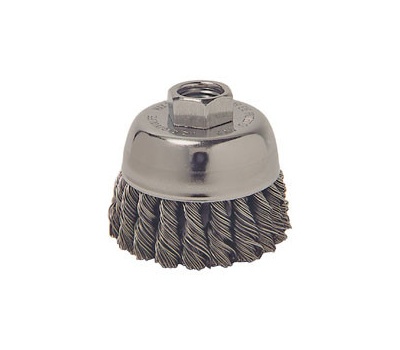 Weiler 36038 3in Knotted Cup Brush X-Coarse