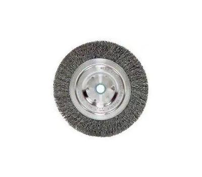 Weiler 36063 Wheel Brush 5in Crmp 5/8-1/2
