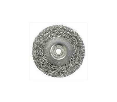 Weiler 36402 Wheel Brush 4in Crimp Coarse