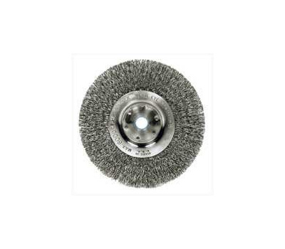 Weiler 36406 Wheel Brush 6in Crimp 5/8-1/2