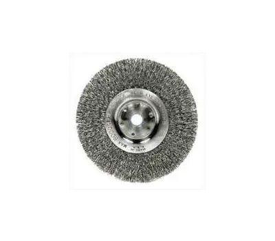 Weiler 36407 Wheel Brush 6in Crimp Fine
