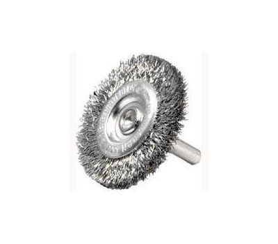 Weiler 36416 Wheel Brush 4in Crimp Fine