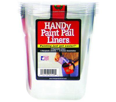 Bercom 2520CT Handy Handy Paint Pail Liner Disposable 6 Pack