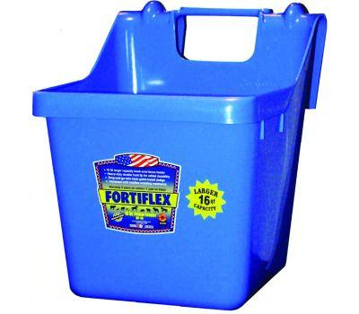 Fortex Fortiflex 1301600 Over The Fence Bucket Feeder 16 Quart Blue