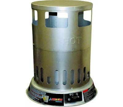 World Marketing LPC80 DuraHeat Convection Heater, Liquid Propane, 50000 to 80000 Btu, 2000 Sq-Ft Heating Area, Silver