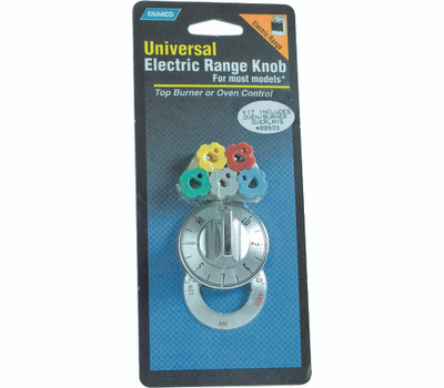 Camco 00933 Chrome Electric Range Oven Knob