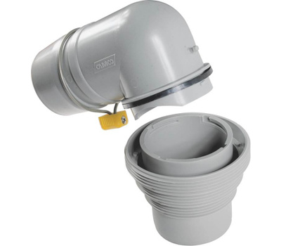 Camco 39144 Sewer Adapter With Elbow 4In1