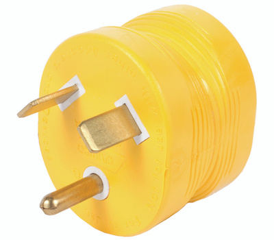 Camco 55233 Power Grip Adapter Power 30m-15f Amp 125v