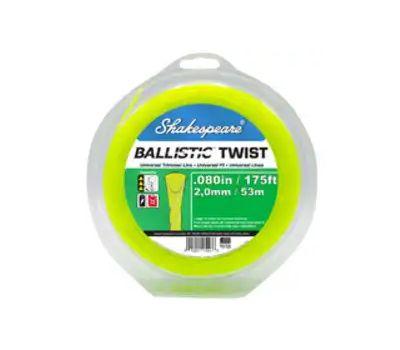 Shakespeare 17243 Ballistic Trimmer Twist Line, 0.08 in Dia, 175 Ft L