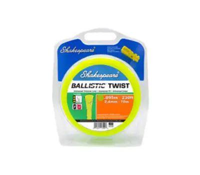 Shakespeare 17249 Ballistic Trimmer Twist Line, 0.095 in Dia, 230 Ft L