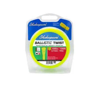 Shakespeare 17250 Ballistic Trimmer Twist Line, 0.105 in Dia, 180 Ft L