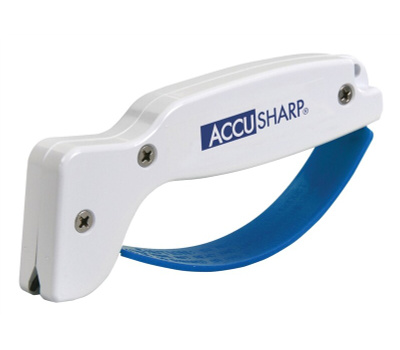 AccuSharp 001 Knife And Tool Sharpener With Tungsten Carbide Abrasive