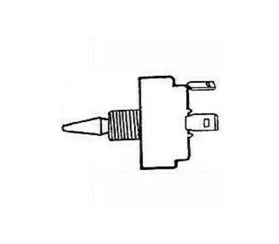 US Hardware M-030C 12 Volt Toggle Switch 1/2 Inch