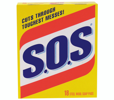 SOS 98018 18 Count S.O.S Pads