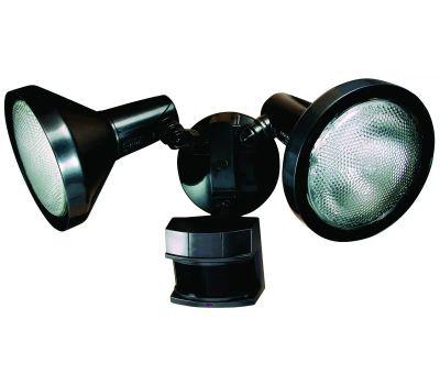 HeathCo HZ-5318-BZ Heath Zenith Dualbrite Motion Activated Security Light, 120 V, 300 W, 2-Lamp, Halogen Lamp