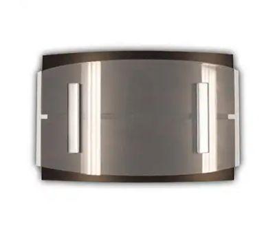 HeathCo SL-7868-02 Doorbell Wrls W/Btn Wood Finsh