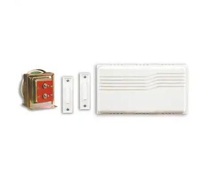 HeathCo SL-27102-02 Doorbell Chm 2btn W/Trnsfmr