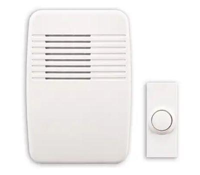 HeathCo SL-7366-03 Chime W/Button Wireless Plugin