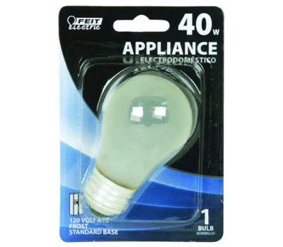 Feit Electric BP40A15 40 Watt Incandescent Appliance Light Bulb A15 Frosted