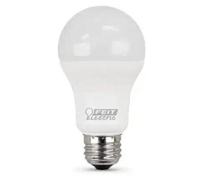 Feit Electric A1600/850/10KLED/ 2 Led Lamp, A19 Lamp, 100 W Equivalent, Medium (E26) Lamp Base, White