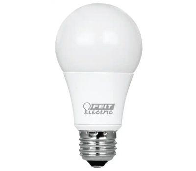 Feit Electric OM60DM/930CA/4 Led Lamp, 8.8 W, E26 Medium Lamp Base, A19 Lamp, Bright White Light, 800 Lumens