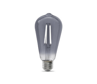 Feit Electric ST19/SMK/VG/LED Led Bulb, Original Vintage, St19 Lamp, 25 W Equivalent, Medium (E26) Lamp Base, Clear