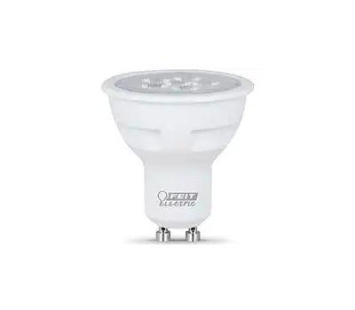 Feit Electric BPMR16/GU10/800/L Led Lamp, Mr16 Lamp, 75 W Equivalent, Gu10 Lamp Base, Dimmable, Warm White Light